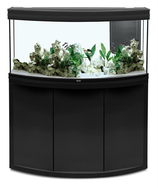 Aquatlantis Aquarium Fusion Horizon 120 Zwart 120x50x60 Cm Meubel 40 Mm