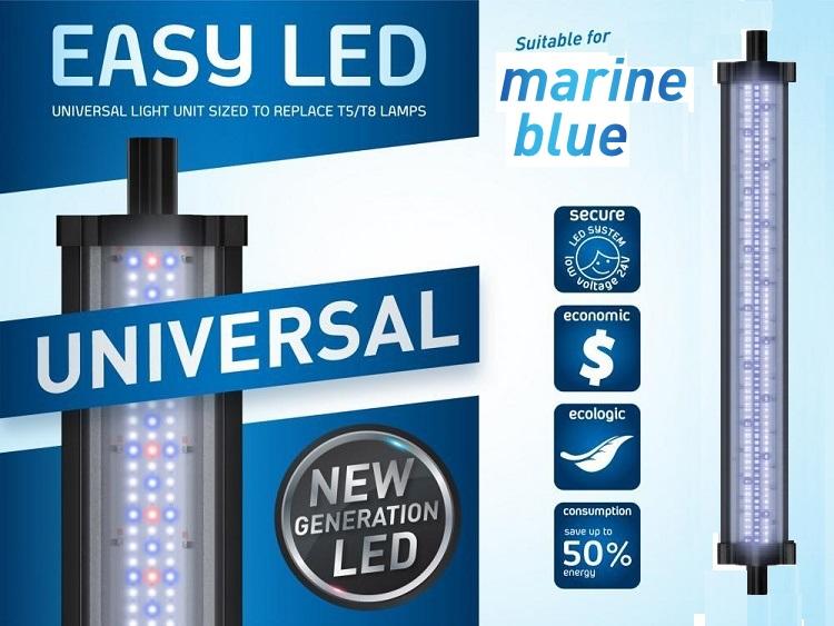 verlichting led zeewater aquatlantis easy led verlichting marine blue 438 mm